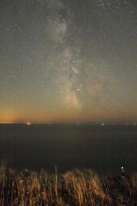 The Milky Way over Beachy Head Lighthouse - 2016-08-23
