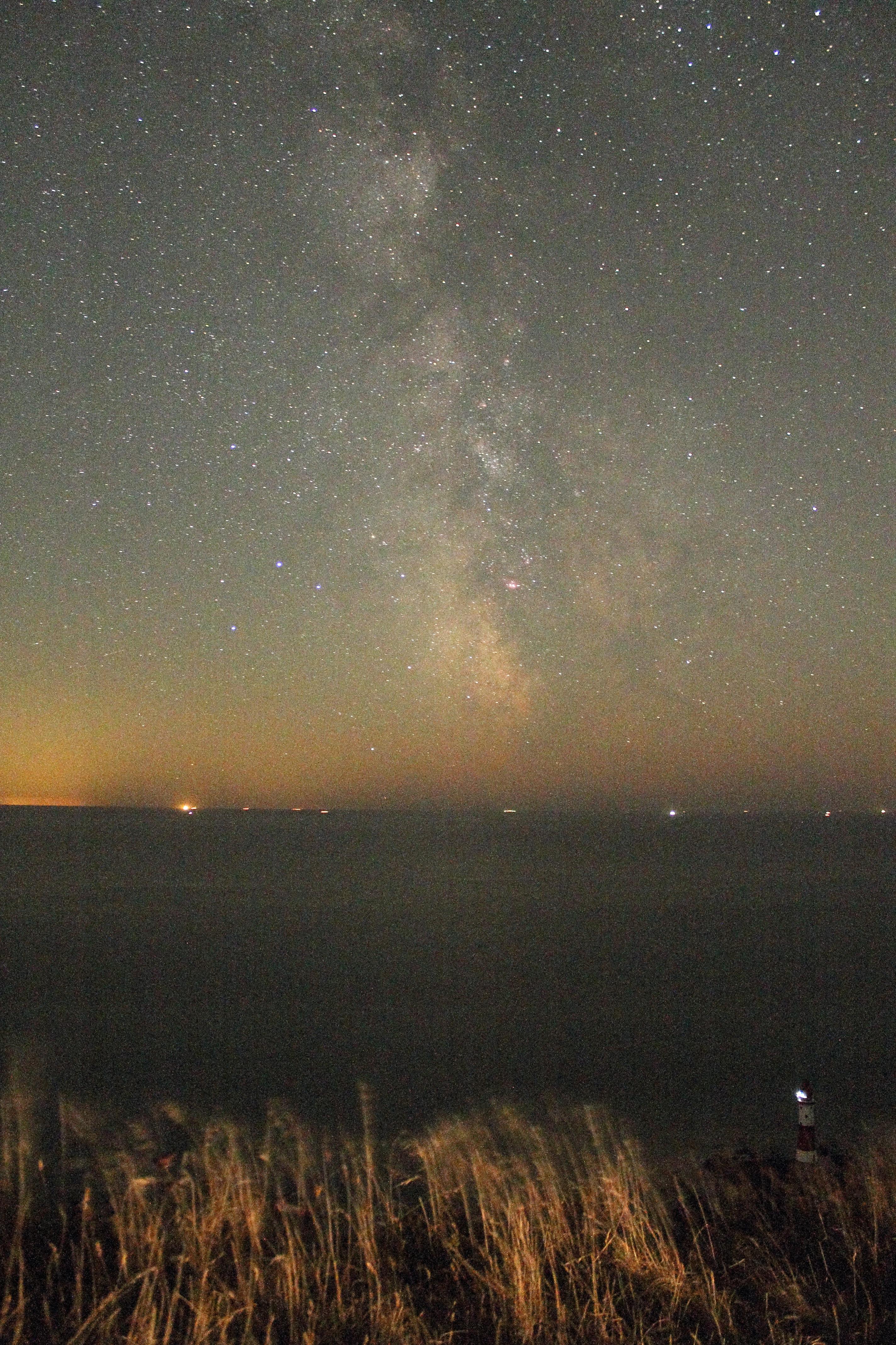 Milky Way Over Beachy Head Lighthouse Terry Webb